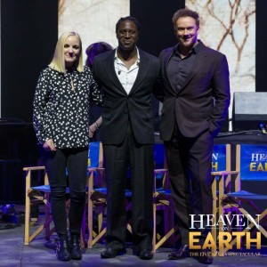 Heaven On Earth the Musical press launch